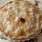 recette Pie à la rhubarbe