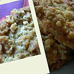 recette Biscuits aux flocons d'avoine