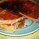 recette tarte au thon et saumon au concentré de tomate