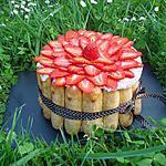 Charlotte aux fraises gariguette