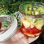 Verrine au 4 fruits de saison