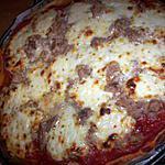 recette Pizza bolognaise