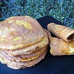 recette Pancakes au poulet régime