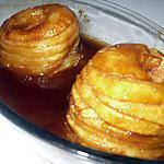 recette Pommes au four caramélisées