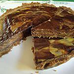 tarte speculos chocolat /citrons