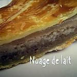 recette Galette des Rois aux Poires et Crème de Marrons