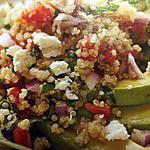 recette Salade Grecque Quinoa et Avocat