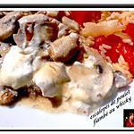 recette escalopes de poulet flambé au wihsky