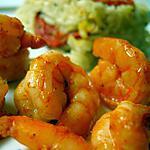 recette Crevettes chipotle et pilaf aux accents méditerranéens