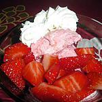 recette fraises melba