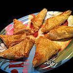 recette Diet' & Spicy Beef Samoussas ! Yeah !