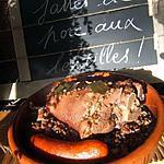 recette Jarret de porc aux lentilles vertes du Puy  , tomates et thym