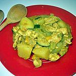 recette Wok de poulet et ses legumes