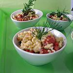 recette verrines oeuf brouillé et saumon fumé