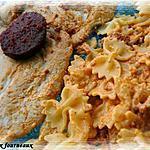 recette Escalope de dinde & crème de chorizo