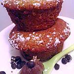 recette Muffin confiture de chataîgnes et pépites de chocolat