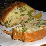recette cake aux asperges et saumon fumé