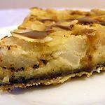 recette Tarte aux poires, chocolat et caramel