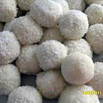 recette boule de neige  a la noix de coco et billes choco's