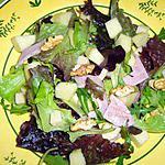 recette Salade surprise au comté