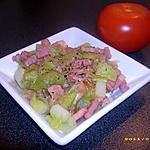 recette poireaux fondants aux petits lardons