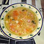 recette bouillon de légumes à ma façon