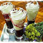 recette Verrines gourmandes à la cerise