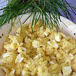 recette Ma Salade De Pommes De terre Ciboulette Oeufs