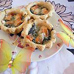 recette Feuilleté chevre-épinard