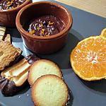 recette Ganache au chocolat noir