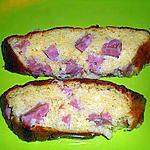 recette CAKE AU GOUDA ET JAMBONNEAU