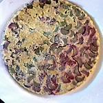 Tarte Tatin à la rhubarbe pour régime