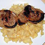 recette Poitrine de porc à la moutarde