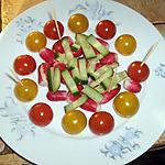 recette assiette apéro nature croquante