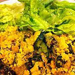 recette Crumble de sardines et courgettes