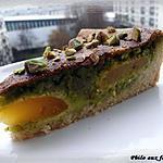 recette Tarte aux abricots & à la pistache