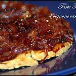 recette Tarte Tatin d'oignons caramélisés