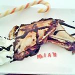 recette Croque madame gourmande au nutella banane