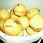 recette muffins choco-noix de coco