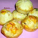 recette muffins mimolette-pruneaux-bacon