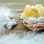 recette Tartelette à la créme de mascarpone et peches
