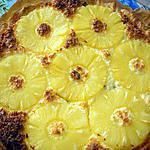 recette Tarte à l'ananas et à la noix de coco