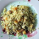 Taboulé au poulet grillé, melon et pignons de pin