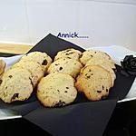 recette cookies choco et noix de coco.