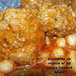 recette boulettes de viande et sa sauce