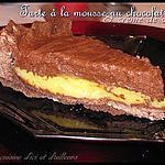 recette Tarte à la mousse au chocolat et citron de Pierre Herme