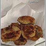 recette Croquettes de pommes de terre & jambon