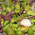 recette Salade coréenne de concombres aux haricots de soja