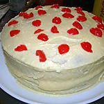 "Gâteau ""hummingbird"" (gâteau américain traditionnel)"