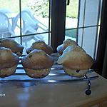recette Muffins au chocolat ( Pépites, liqueur de poire )